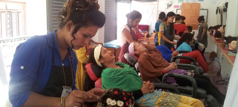 Beautician Training to Youths Women